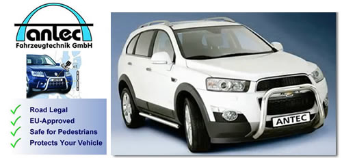 Chevrolet Captiva Accessories: SUV Accessories and Styling