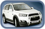 Chevrolet Captiva accessories and styling