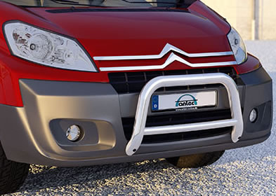 citroen dispatch front bull bar with pipe