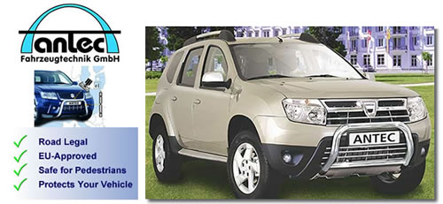 Dacia Duster accessories by antec