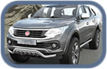 Fiat Fullback pick up accessories