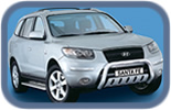 Hyundai Santa-Fe 2006+ accessories