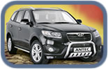 Hyundai Santa-Fe 10+ accessories