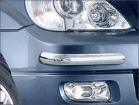 hyundai terracan front bumper guards