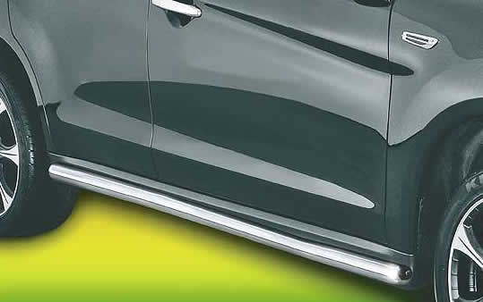 Pipes Auto Sales >> Mitsubishi ASX Accessories: Side Bars / Side Protection Pipes