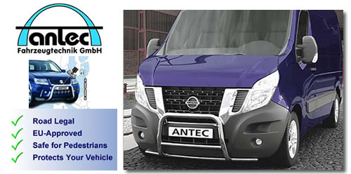 Nissan NV400 van accessories