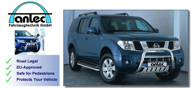 Nissan Pathfinder Accessories 4x4 2005 - Antec Stainless