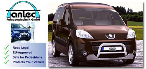 Peugeot Partner 2012+ van accessories