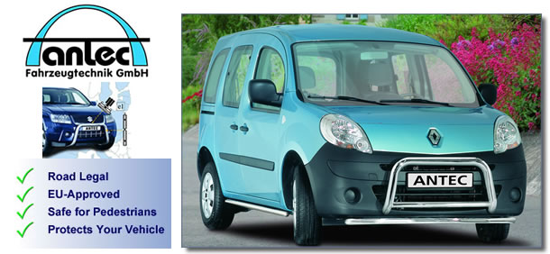 Renault Kangoo accessories and styling