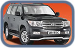 Toyota Land Cruiser V8 accessories and styling