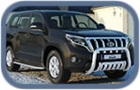 Toyota Land Cruiser 2009+ accessories and styling
