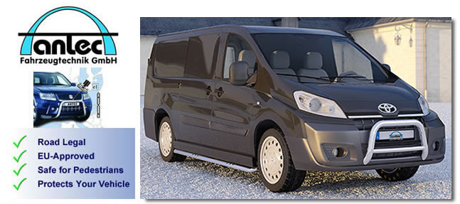 toyota proace accessories and van styling