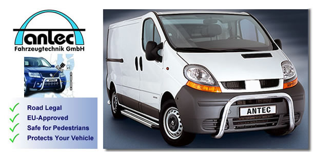 vauxhall vivaro van accessories by antec