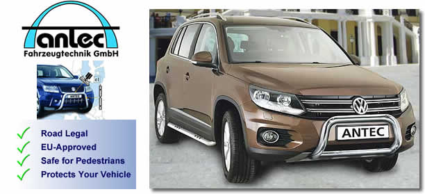 VW Tiguan 2011+ accessories by antec